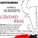 La manifestación antitaurina se retrasa al domingo 19 tras un ardid del Ateneo Taurino