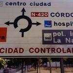 Puertollano, contra el odio y la exclusión: Eliminada la pintada xenófoba a la entrada de la ciudad
