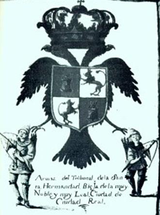 Escudo de la Santa Hermandad de Ciudad Real en el siglo XVIII