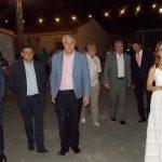 Los alcaldes de Almodóvar y Daimiel y concejales de Herencia asistieron a la apertura de la XXXI Semana Cultural de Villamayor de Calatrava