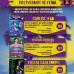 La sala Zahora Magestic apuesta por Carlos Jean, la música electrónica y un festival remember en el post vermú de feria