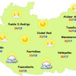 El tiempo en Ciudad Real: principio de semana veraniego