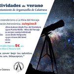 Argamasilla de Calatrava: Ruta astrosenderista el 22 de septiembre para despedir el verano en Minas del Horcajo