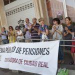 Ciudad Real: La Coordinadora reclama la actualización de las pensiones de acuerdo con el IPC