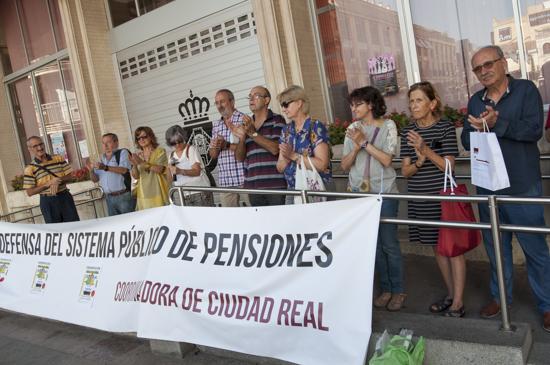 Concentración coordinadora en defensa de las pensiones 1