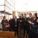 El Gobierno regional concede 25.000 euros para finalizar la restauración de las pinturas murales de la ermita de San Cosme y San Damián