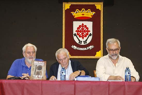 Julio Criado, Claro Barba y Luis María Sánchez