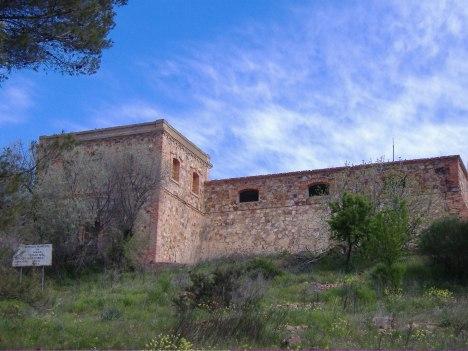 Antiguo Depósito de Agua en el cerro de La Atalaya del año 1920