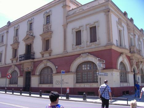 Antiguo colegio Ferroviario, 1925
