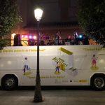 El autobús del Suena CR sigue en ruta hasta que comience el concierto de Coque Malla