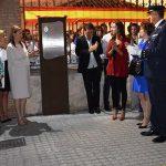 Socuéllamos dedica al capitán puertollanense Borja Aybar la glorieta que preside la entrada a la ermita de la Virgen de Loreto