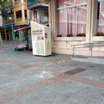 """Ciudad Real: Vallado por seguridad el Ayuntamiento tras la caída de cascotes """"del tamaño de pelotas de tenis"""""""