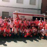 Nueve personas atendidas por Cruz Roja durante el cuarto encierro de  Almodóvar del Campo