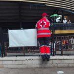 Siete personas atendidas por Cruz Roja Española en el tercer encierro de Almodóvar del Campo