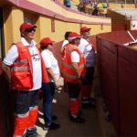 Siete personas atendidas por Cruz Roja durante el segundo encierro de Almodóvar del Campo