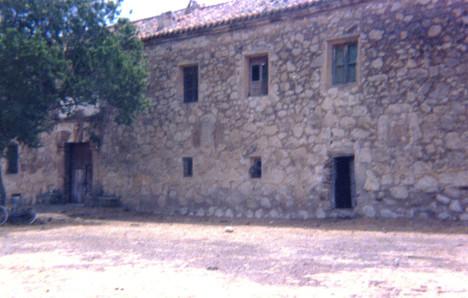 Casa Solariega de la Encomienda de Santa María del Guadiana siglo XVIII