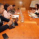 Los alcaldes de Puertollano y Almadén defienden la opción sur de la autovía A-43 en su primera reunión con Fomento