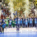 Movistar Inter, campeón de la Supercopa de España tras derrotar en los penaltis al Jaén Paraíso Interior