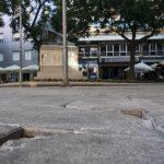 Ciudad Real: Lillo señala que las baldosas rotas en la plaza Cervantes son antiguas y anuncia que en una semana se determinarán las actuaciones a realizar en el Ayuntamiento