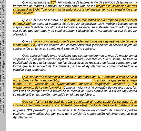 Ilustración 2: Fragmento del certificado de Junta de Gobierno Local. Fuente: ciudadreal.es