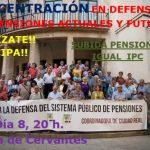 """Comunicado: 8 de octubre, nueva concentración """"por una pensiones dignas, para ahora y para el futuro"""""""