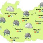 El tiempo en Ciudad Real: menos frío y algunas lluvias el jueves
