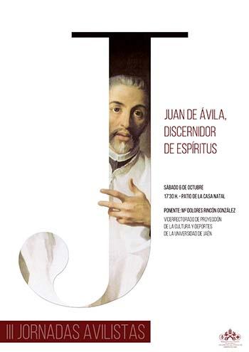 Cartel III Jornadas Avilistas de Almodóvar del Campo
