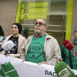 Ciudad Real: La PAH reclama a Bankia que acepte la dación en pago para dos afectados