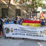 Ciudad Real: Policías y guardias civiles piden la dimisión del presidente del Gobierno
