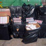 La Guardia Civil aprehende 6.500 cajetillas de Tabaco en la autovía de Andalucía