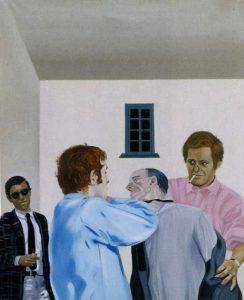 Eduardo ARROYO - Vivre et laisser mourir ou la fin tragique de Marcel Duchamp-1965-MRSofia-3