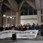 Ciudad Real: El frío no frena la reivindicación de unas pensiones dignas