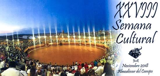 Imagen promocional de la XXVIII Semana Cultural del Club Taurino 'Almodóvar'