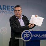 """PP: """"Los caprichos de Zamora de jugar a empresaria les han costado a los vecinos de Ciudad Real 100 millones de pesetas en solo tres años"""""""