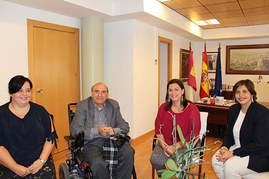 Reunión con alcaldesa Puertollano