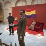 Francisco Franco, Ángel Andrade, José Cendrero o Sebastián Rebollar reviven la historia del Palacio de la Diputación