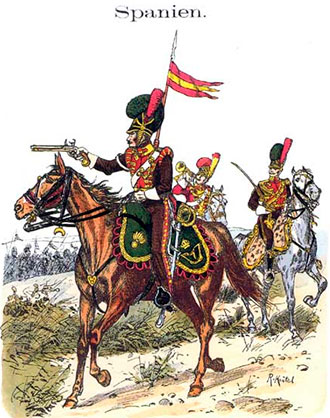 7º de Lanceros de La Mancha del ejército de José Bonaparte