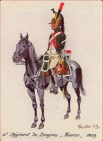 Dragón de caballería napoleónica en España
