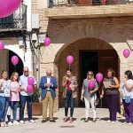 Carrión de Calatrava realizó un acto de sensibilización y apoyo contra el cáncer