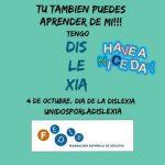 Comunicado: 4 de octubre, Día de la Dislexia