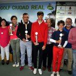 """Luis Fernando Ruiz, ganador Scratch delX Torneo de Golf """"Ayuntamiento de Ciudad Real"""""""