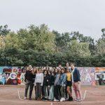Puertollano: El bello grafiti pop de los alumnos del IES Galileo Galilei