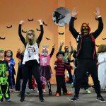 Poblete se convierte un año más en el pueblo más divertido y terrorífico con su gran fiesta de Halloween