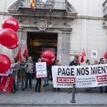 """Los sindicatos exigen a Junta de Comunidades que negocie la mejora del empleo público y la """"recuperación"""" de los derechos de los funcionarios"""