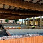 Avanzan a buen ritmo las obras del complejo de piscinas climatizadas de Villarrubia de los Ojos