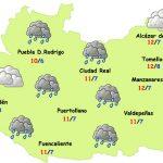 El tiempo en Ciudad Real: lluvia y frío