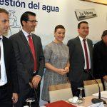 """Zamora: """"La gestión del agua es uno de los aspectos esenciales en los municipios"""""""
