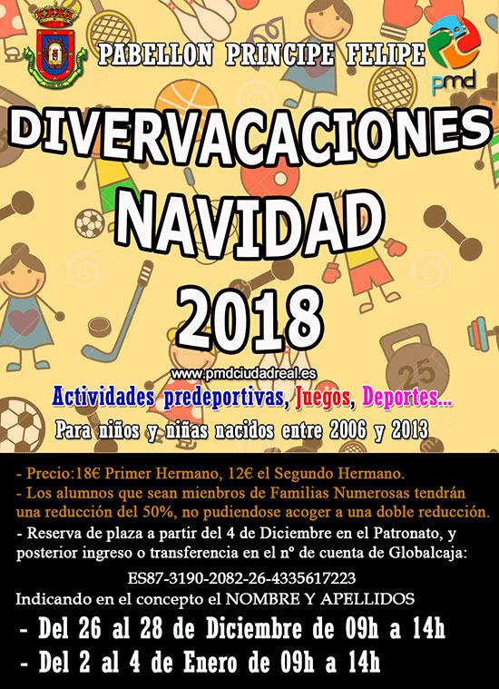 Ciudad Real Divervacaciones Navidad Actividades Deportivas Y