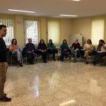 Javier Cebreiros forma a los técnicos de Acción Social en materia de comunicación emocional