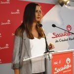 """""""Pilar Zamora sigue cumpliendo"""", según la portavoz del PSOE de Ciudad Real"""